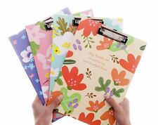 A4 Document File Clipboard Metal Clip Thick Paper Writing Hard Pad Board #UK