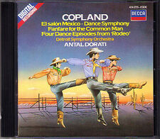 Antal Dorati: Copland El Salon Mexico Dance Symphony RODEO fanfare Common Man CD