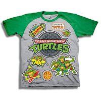Teenage Mutant Ninja Turtles Short Sleeve T-Shirt - Toddler - Nickelodeon Gray