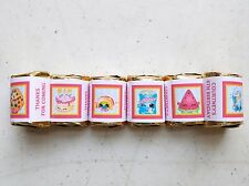 30 Shopkins Birthday Hershey Nugget Wrappers Stickers Party Favors