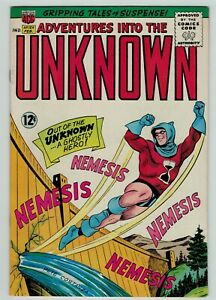 Adventures into the Unknown 154 Silver Age sci-fi American Comics 1965 FN+