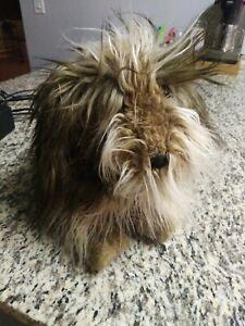 "Folkmanis Folktails Scruffy Shaggy Sheep Dog 20"" Large Furry Plush Hand Puppet"