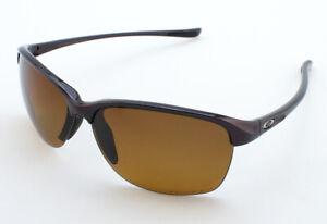 Oakley Unstoppable OO9191-03 Sunglasses - Raspberry Spritzer/Brown Grad Polar