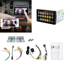 """7""""Capacitive Touch Screen 2Din Car AM FM Radio Player GPS WIFI 3G 4G Mirror Link"""