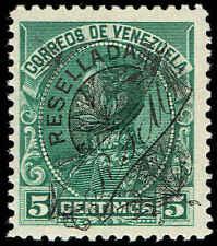 Scott # 150 - 1900 - ' Simon Bolivar ', Stamp of 1899 Ovpt in Black