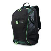 """Samsonite REMAGG Hustle - Gamer Backpack 15.6"""" Laptop - DTD Green"""
