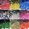 1000 Hot Fix Glass Crystal Rhinestones Iron On Gems Shoes Dress Decoration Q AAA