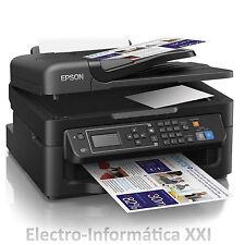 Fax Multifuncion WIFI Tinta Inyección EPSON WF-2630WF ESCANER IMPRESORA 4 EN 1