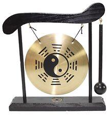 Zen Table Gong Taiji Symbol Feng Shui Meditation Desk Bell Home Decor Gift