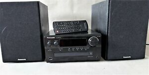 Panasonic   Micro HiFi System SC-PMX74  DAB+  mit Fernbedienung  + 3-Weg Boxen