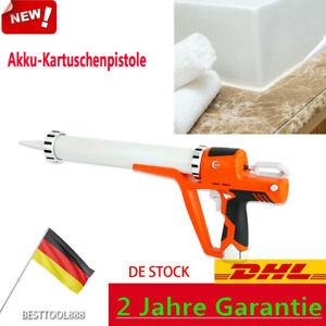 4000N Akku Kartuschenpresse Kartuschenpistole Silikonspritze 300-600ML +Batterie