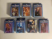 Star Wars Mini puzzle Lot of seven jango fett obi wan mace windu c3po r2d2