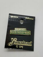 rare E.P.E. Memphis Elvis Presley Blvd. Cloisonne pin bought at Graceland