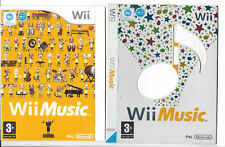 Nintendo Wi Fi WII MUSIC MUSIQUE Game Jeu Box multilingue allemand abpielbar NEUF