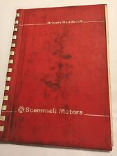 SCAMMELL ROUTEMAN 3 / MARK 3 / Mk3 / MkIII TRUCK OWNERS handbook DRIVERS MANUAL
