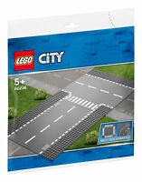 60236 LEGO CITY Straight and T-junction 2 Pieces Age 5+
