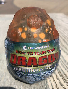 How To Train Your Dragon The Hidden World Orange Egg Gronckle Soft Toy Plush
