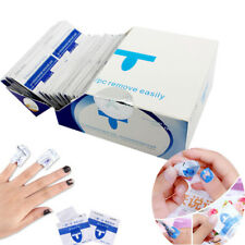 200 Nail Art Soak Remover Polish Acrylic Gel Polish Removal Foil Wraps Acetone