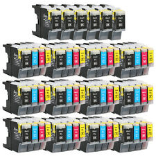54 Ink Cartridges For Brother LC1240 LC1280 MFC J5910DW J6710DW J6910DW J825DW