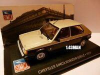 SIM11 Voiture 1/43 IXO altaya CHRYSLER simca horizon jubilé 1979