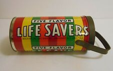 1970's Vintage Rare Life Savers Promotional Lunchbox Wow!!!