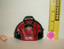 Original Vintage Barbie Winter Holiday Plaid Bag #975 1959 Excellent Condition