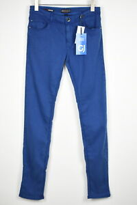 Gaudi Jeans Hommes W34 L34 Super Skinny Extensible Solide Jeans Bleu 14466