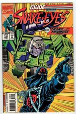 Marvel G.I. JOE #140 Snake Eyes and Transformers 1993 VF/NM Vintage Comic