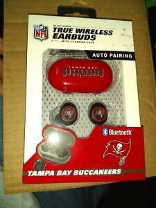 Tampa Bay Buccaneers TRUE WIRELESS EARBUDS+Charging Case(all smart phones tablet