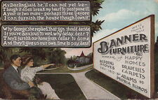 Postcard Banner Furniture Peoria IL