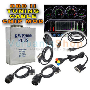 CAVO KWP 2000 PLUS + ECU FLASHING OBDII RIMAPPA CENTRALINE FORD MERCEDES BMW VW