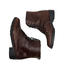 Eddie Bauer US 12 Woman's Leather Boot Brown