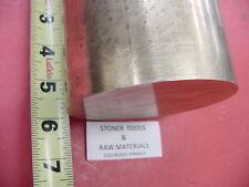 "4"" C360 BRASS ROUND ROD 6"" long Solid 4.00"" OD H02 Lathe Bar Stock Half Hard"