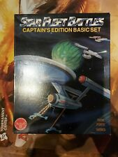 Star Trek: Star Fleet Battles Captain's Edition Basic Set Game (amazing)