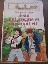 Comtesse de Ségur: Jean qui grogne et Jean qui rit / Bibliothèque Rose, 1983