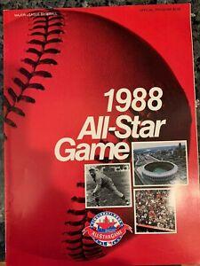 1988 MAJOR LEAGUE BASEBALL ALL-STAR GAME PROGRAM - AT CINCINNATI REDS