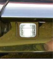 JAGUAR E TYPE Ser 2&3 reverse light refurbishment kit, NEW seals(2)+LED bulbs(2)