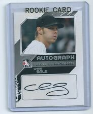 Chris Sale 2011 In the Game Heroes and Prospects AUTO Autographed Rookie