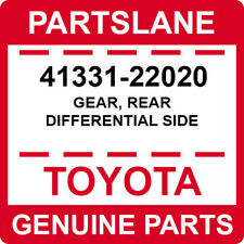 41331-22020 Toyota OEM Genuine GEAR, REAR DIFFERENTIAL SIDE