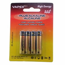 12x AAA LR03 MN2400 alkaline VapexTech Batteries. UK seller