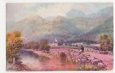 H.B. Wimbush, Langdale Pikes, Tuck 2725 Postcard, B037