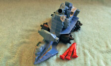 Masters of the Universe MOTU Battle Ram by Mattel with both missiles