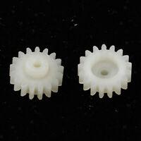 2 Kunststoff Zahnrad Zahnradspiel für RC-Auto Ferngesteuerter Buggy Auto 1/24