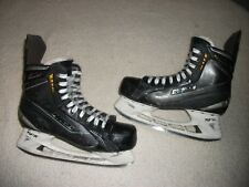 BAUER TOTAL ONE ICE HOCKEY SKATES MEN'S SIZE 10.5 D SKATE,12 SHOE USED, BUT NICE