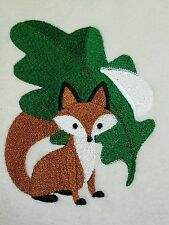 Personalized Embroidery Baby Blanket Baby Fox