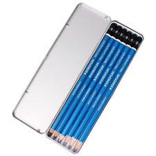 Staedtler Mars Lumograph 100 G6 Premium Quality Pencil Metal Tin 6Set (8B~HB)