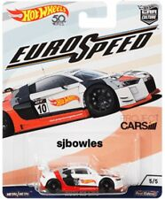 2018 Hot Wheels Car Culture EURO SPEED 2018 AUDI R8 LMS GT3 RACING CAR mint card