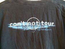Vintage 90s ALANIS MORISSETTE 1996 Cant Not Tour Rock Concert Black T-Shirt