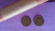 LINCOLN WHEAT ROLL 1955-D LOT OF 50 Coin 1955 D Combined shipping maxes at $8.00