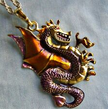 FANTASTIC  ~~  DRAGON  ~~  NECKLACE  --- (GREAT_CHRISTMAS _GIFT)